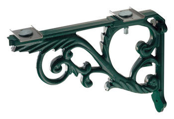KAKUDAI(カクダイ)カウンター用ブラケット(鋳鉄・緑色塗装)250-005-G