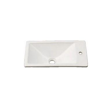 KAKUDAI(カクダイ)瑠珠 角型手洗器493-010-W(月白)