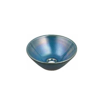 KAKUDAI(カクダイ)瑠珠 丸型手洗器493-011-CB(孔雀)