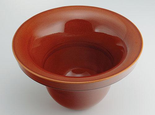 KAKUDAI(カクダイ)丸型手洗器//飴493-099-BR