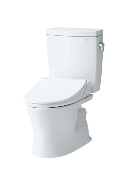 TOTO(トートー)トイレ便器新ピュアレストQRCS230BP-SH232BA手洗なしタンク 壁排水