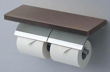 TOTO(トートー)棚付二連紙巻器めっきタイプ芯棒固定タイプYH63KSS