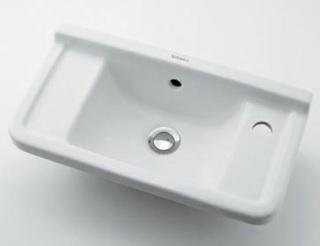 KAKUDAI(カクダイ)DURAVIT 壁掛手洗器#DU-0751500008