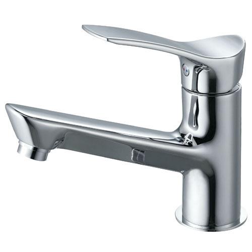 SAN-EI(三栄水栓)シングルワンホール洗面混合栓K4712NJV-13(一般地)/K4712NJK-13(寒冷地)