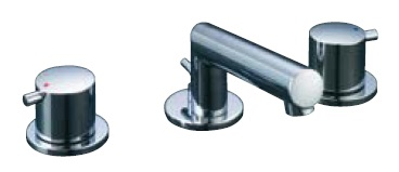 INAX(LIXIL)eモダン 2ハンドル混合水栓LF-E130B