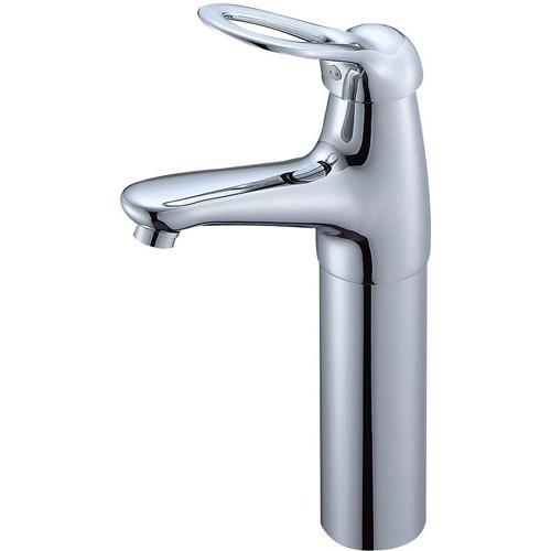 SAN-EI(三栄水栓)シングルワンホール洗面混合栓K4770NJV-2T-13(一般地)/K4770NJK-2T-13(寒冷地)