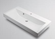 KAKUDAI(カクダイ)CORPOSO角型洗面器半埋めタイプ493-070-1000