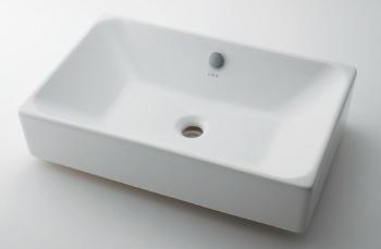 KAKUDAI(カクダイ)VitrA角型洗面器 置型タイプ#VR-4434B0030012