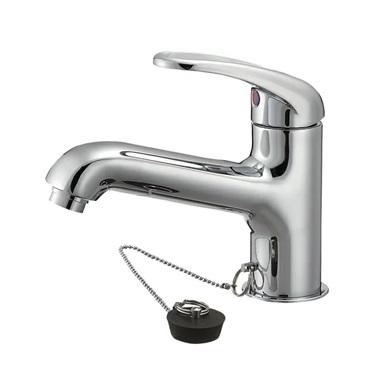 SAN-EI(三栄水栓)シングルワンホール洗面混合栓K4710V-13-23(一般地)/K4710K-13-23(寒冷地)