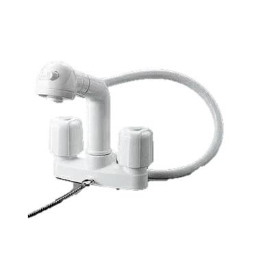 KVK2ハンドル洗髪シャワー ゴム栓付KF64(一般地)/KF64Z(寒冷地)