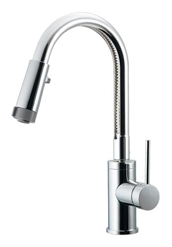 KAKUDAI(カクダイ)シングルレバー混合栓(シャワー付き)117-132(一般地) / 117-132K(寒冷地)