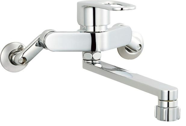 INAX(LIXIL)クロマーレS(エコハンドル)キッチンシャワー付シングルレバー混合水栓SF-WM432SY