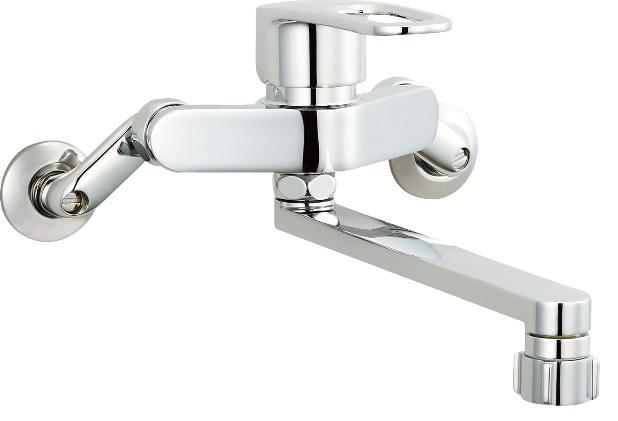 INAX(LIXIL)クロマーレS(エコハンドル)キッチンシャワー付シングルレバー混合水栓SF-WM432SYN【寒冷地用】