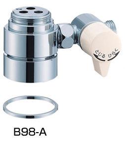 SAN-EI(三栄水栓)シングル混合栓用分岐アダプターB98-A【SAN-EI用(U-MIXモデロ)】
