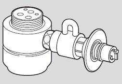 Panasonic(パナソニック)食器洗い乾燥機用分岐栓シングル分岐水栓・KVK社用CB-SKH6