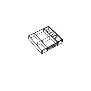 トクラス株式会社(ヤマハリビングテック)ステンレストレーD450キャビネット用(ブルモーションレール用)W600用KHDOLD400BI1F3