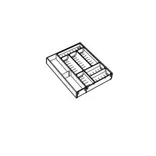 トクラス株式会社(ヤマハリビングテック)ステンレストレーD650キャビネット用(ブルモーションレール用)W600用KHDOLD550KI4
