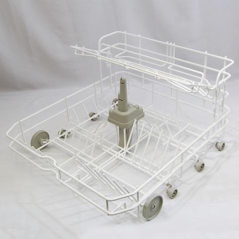 Rinnai(リンナイ)食器カゴ本体(固定ノズル・コップカゴ・車輪付き)098-3155000