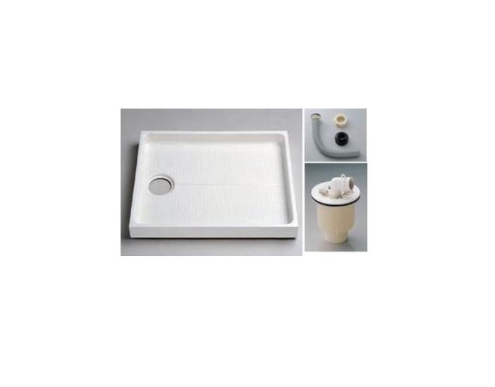 TOTO(トートー)800サイズ洗濯機パン+ABS樹脂製縦引きトラップ+ジャバラホースユニットPWSP80JH2W