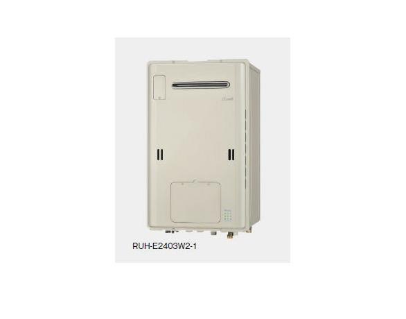 Rinnai(リンナイ) ガス給湯暖房用熱源機(給湯+暖房タイプ) ecoジョーズ 24号 RUH-E1613W2-1