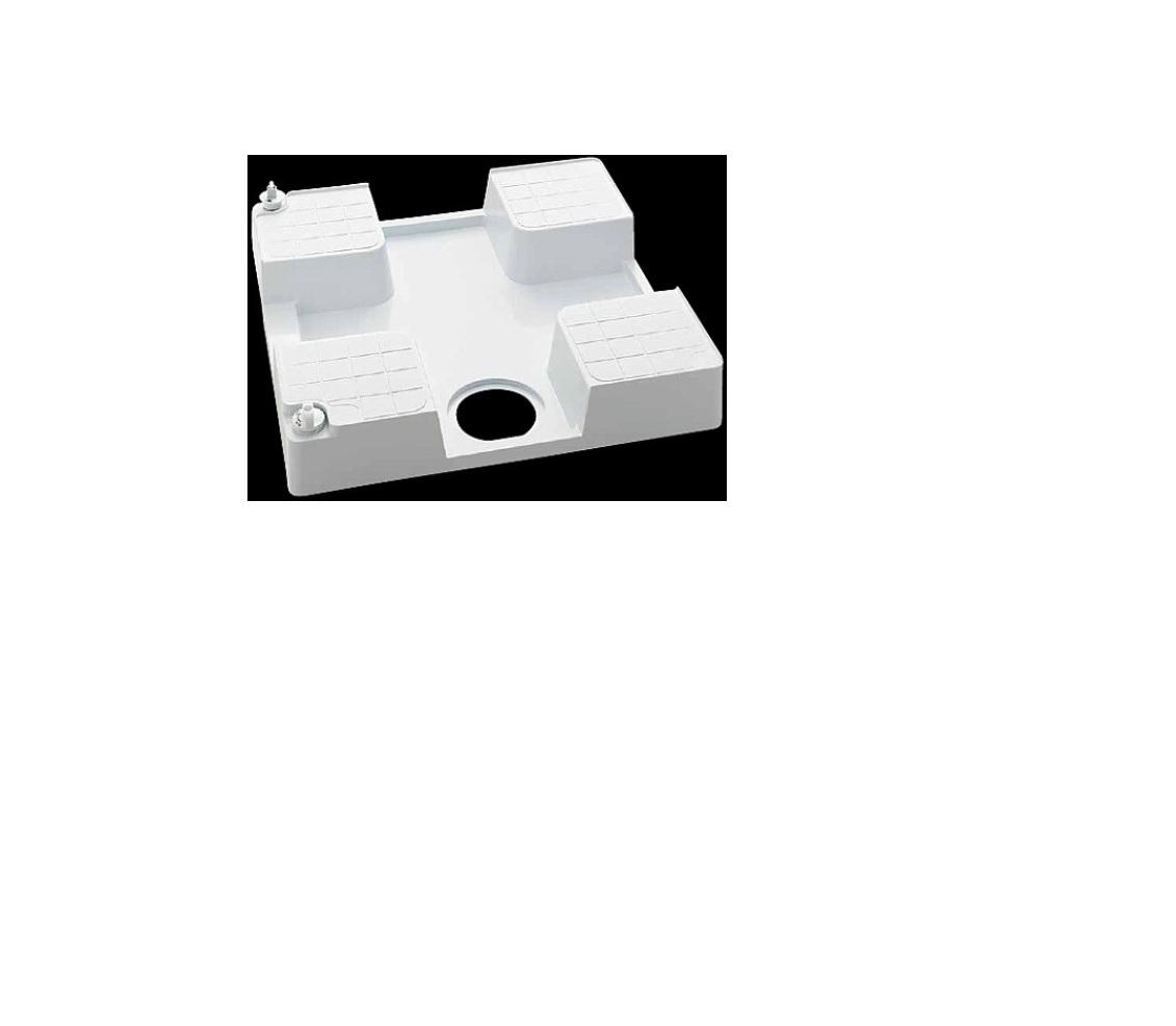 KVK(ケーブイケー)水栓コンセント内蔵型防水パン(右仕様)腰高タイプSC1390N-R