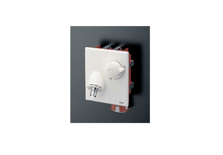 TOTO(トートー)ピタットくん壁埋込みタイプ樹脂配管用緊急止水弁付き単水栓TWAS10AP1ZA