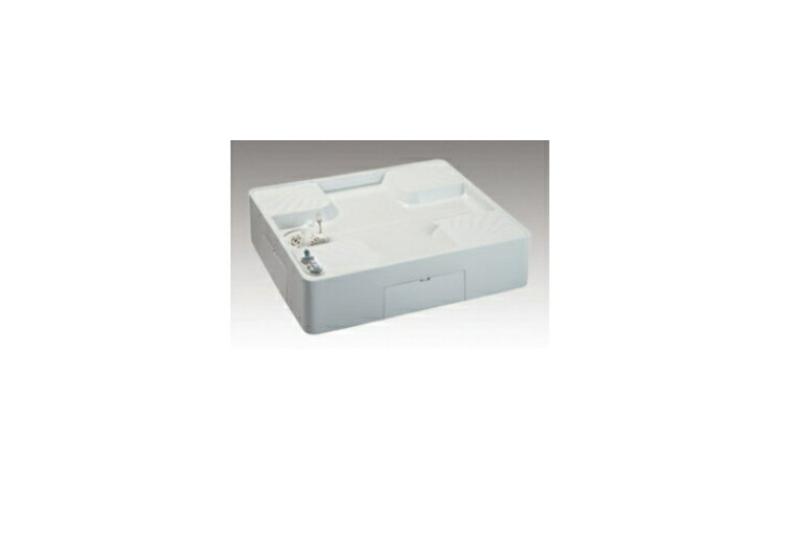 シナネン洗濯機防水パン給水栓付74床上点検タイプUSBS-7464SNW