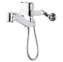 INAX(LIXIL)オールインワン浄水栓壁付タイプ浄水器内臓シングルレバー混合水栓JF-AH437SY(JW)/JF-AH437SYN(JW)