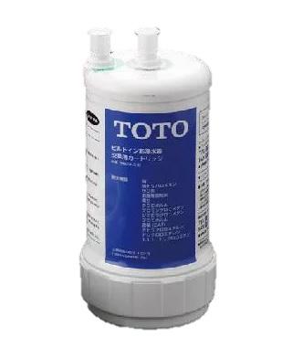 TOTO(トートー)浄水器(ビルトイン形)取換用カートリッジ(13物質除去タイプ)TH634-2