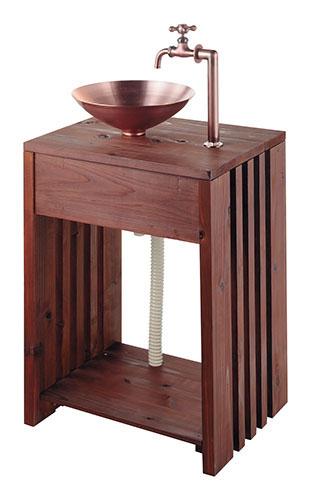 KAKUDAI(カクダイ)木製ガーデンシンク624-982