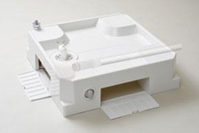 シナネン洗濯機防水パン給水栓付き64床上点検タイプUSBS-6464SNW