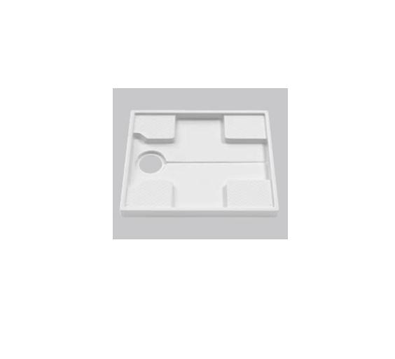 TOTO(トートー)740サイズ洗濯機パン+ABS樹脂製縦引きトラップPWSP74J2W