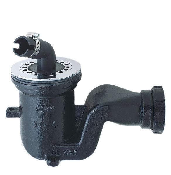 INAX(LIXIL) イナックス リクシル鋳鉄製排水トラップ ヨコビキJT-4-S