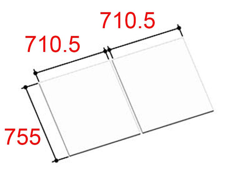 INAX(イナックス) 風呂フタ YFK-1476B(5)-D