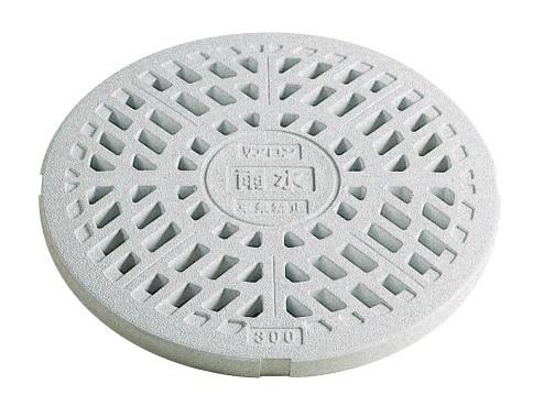 アロン化成雨水・雨水浸透マス複合樹脂製雨水マス用ふた複合樹脂製ふた雨水格子蓋<500kg荷重:車乗禁止>サイズ:300×5枚260311SET