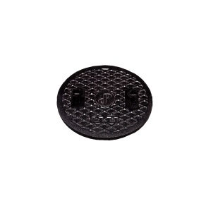 タキロンシーアイ鋳鉄耐圧蓋【350:黒】【車乗・積載可】【2個入り】303545set