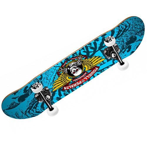 【パウエル コンプリートセット】Powell WINGED RIPPER Complete Skateboard Mini 7.0x28 Blue●KIDS キッズ 子供用