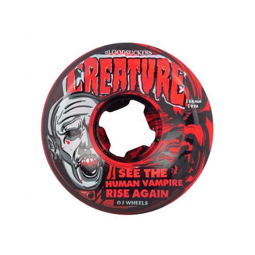 【オージェー ウィール】OJ Wheels BLOODSUCKERS 54mm/56mm 97a ブラッド サッカーズ RED BLACK SWIRL