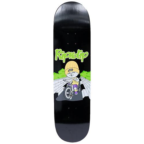 贈与 Skateboard deck リップンディップ スケートボード デッキ 8.25x31.75インチ RIDIN マート BE BLACK BOARD MUST RIPNDIP