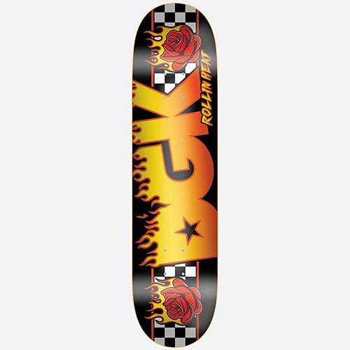 Skateboard deck ディージーケイ スケートボード 期間限定の激安セール サービス デッキ ON 8.06x31.875 FIRE Deck DGK