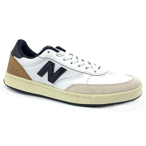 【ニューバランス シューズ】NewBalance Shoes Numeric NM440WTN WHITE/NAVY ヌメリック ホワイト/ネイビー