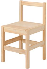 【無垢 学習机/学習デスク/勉強机】【ダイニングチェア】【日本製】最軽量のデザインチェア。座板の彫り込みをなくして、低コストを実現。 コノチェア[板座]