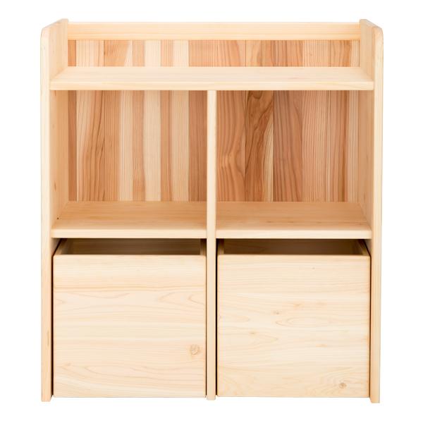 ランドセルラック 木製 【おかたづけラック[大]】ランドセル ラック 無垢 国産