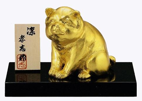 干支の置物 戌(犬)/凛 大森孝志作品 高岡銅器