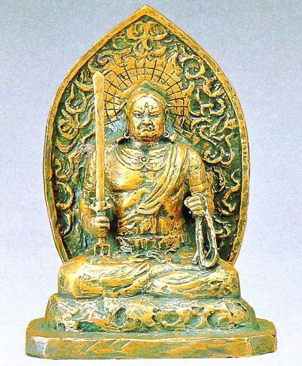 不動明王(大)の置物/仏像通販 北村西望作品 日本彫刻界の最高峰 高岡銅器販売
