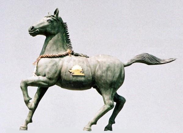 神馬 高岡銅器の神仏具 神馬 70号 美術工芸通販/送料無料