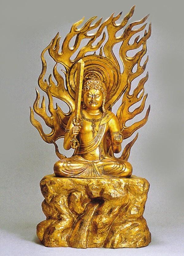 不動明王/酉年生まれの守り本尊 高岡銅器の仏像 八体仏・十三仏