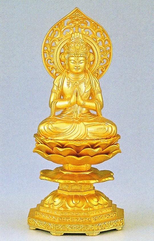 勢至菩薩/午年生まれの守り本尊 高岡銅器の仏像/勢至菩薩