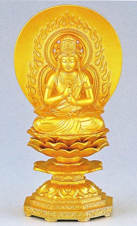 大日如来/未・申年生まれの守り本尊 高岡銅器の仏像/大日如来
