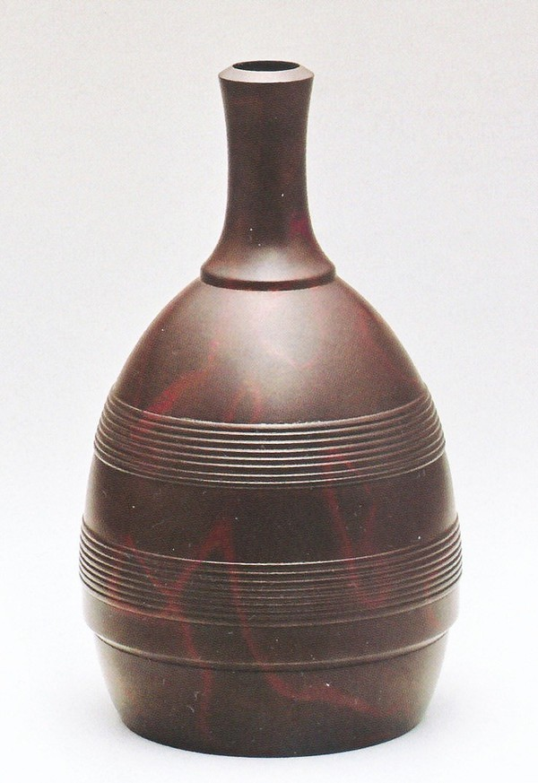高岡銅器の銅製花瓶 至高 千筋徳利 《限定100個》 蓮田修吾郎作品 新品未使用正規品 桐箱付